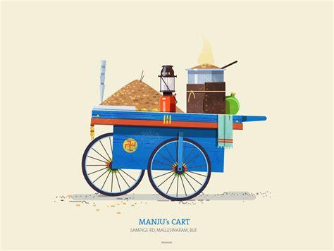 indian cart indian pushcarts on behance