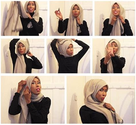 tutorial jilbab viscose 48 best images about hijab tutorial on pinterest simple