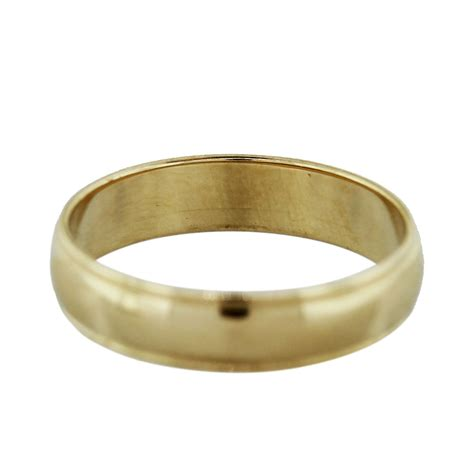 Wedding Bands Gold by 14k Yellow Gold Mens Wedding Band Ring Boca Raton