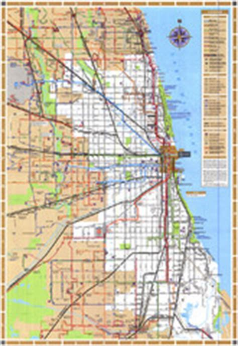 chicago elevated map 1944 chicago l elevated map chicago il us mappery