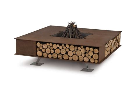 modern firepits modern outdoor pits from ak47 design design milk