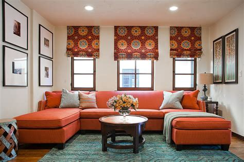 orange sofas living room vibrant trend 25 colorful sofas to rejuvenate your living