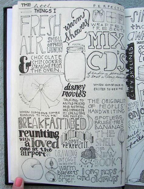 design journal sketchbook 26 inspiring typography sketchbooks web graphic design