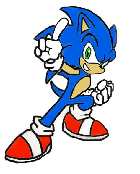 sonic painting new sonic painting by sonicsilverfan1 by milkyway 2 mars