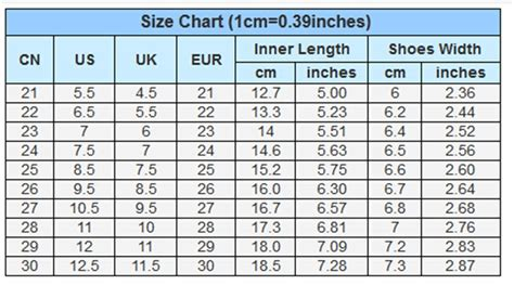 Shoe Size Chart In China | wholesale spring and autumn children female flat sneakers
