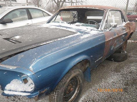1967 mustang parts 1967 ford mustang parts only or rat rod project classic