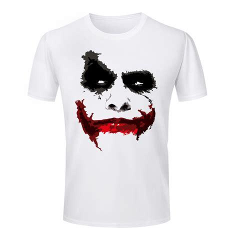 Batman2 T Shirt Custom Istimewa personalized 3d print t shirt batman joker neck casual sleeve summer