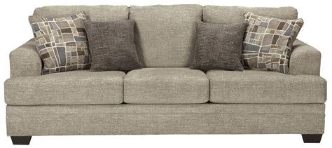 benchcraft barrish contemporary sofa  flared arms