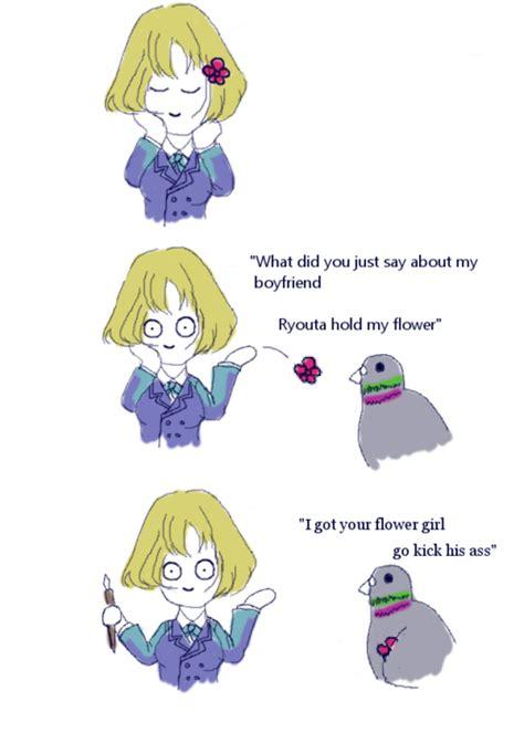 Hold My Flower Meme - hold my flower meme on tumblr