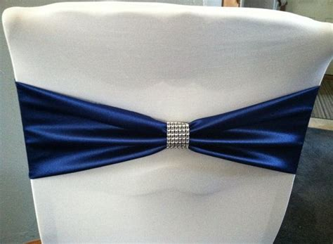 Chair Sash Ties by No Tie Satin Chair Sash Great For Saving Time At Your