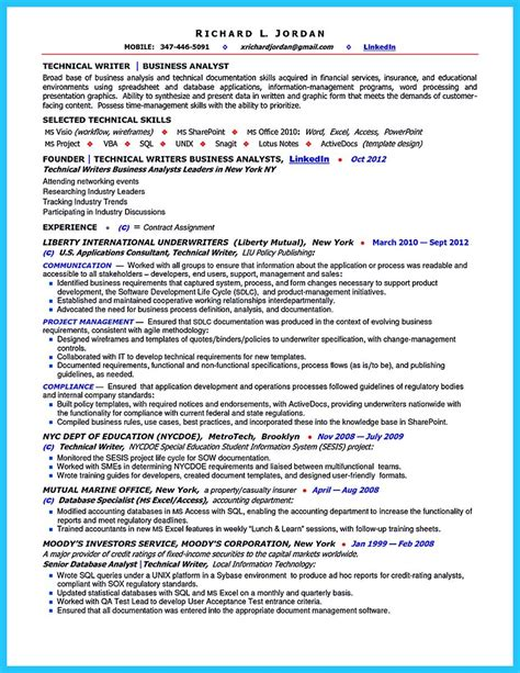 sample it business analyst resume business analyst resume