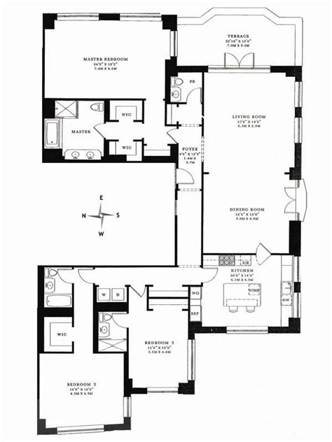 15 cpw floor plans 15 central park west new york ny 10023 sotheby s