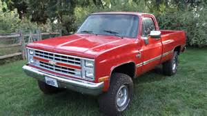 Chevrolet Sale 1987 Chevrolet K10 4 215 4 Truck For Sale