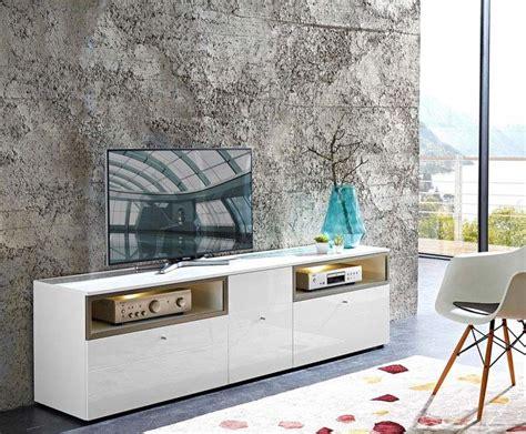 Commode Tv by Commode Tv Design De Coloris Blanc