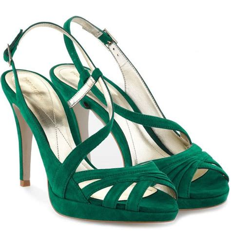 emerald green high heel shoes 25 best green high heels ideas on green