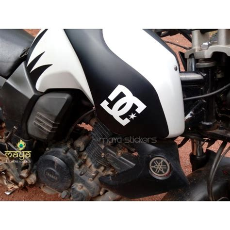 Mofa Tank Aufkleber by Custom Dc Logo Sticker For Yamaha Fz Buy Stickers