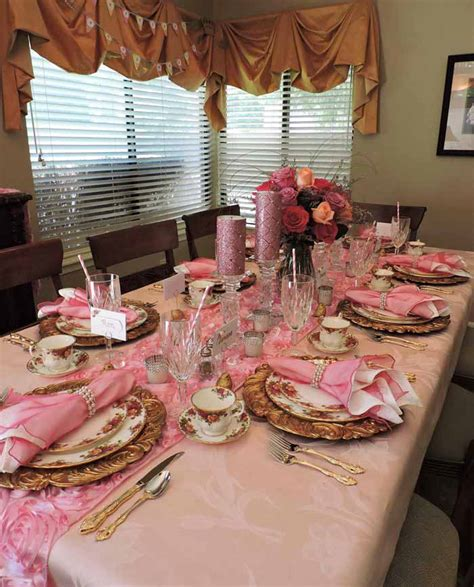 Country Themed Baby Shower by Princess Themed Baby Shower Table With Royal Albert