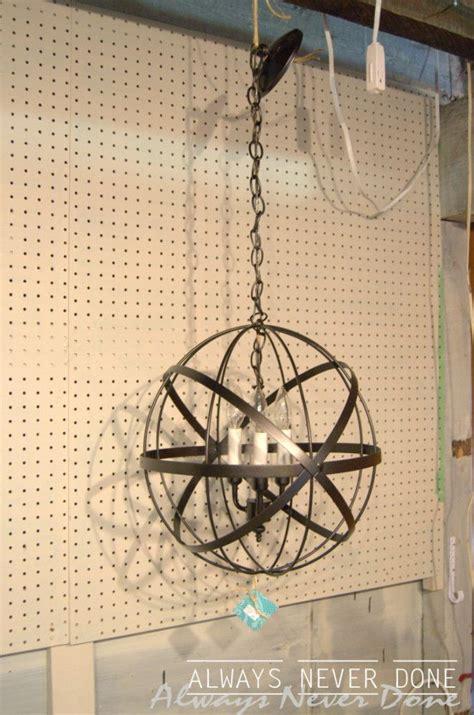Orb Chandelier Diy 25 Best Ideas About Orb Chandelier On Modern Kitchen Lighting Modern Post Lights