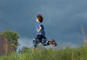running away from home a boy runs away from home and impresses his family with
