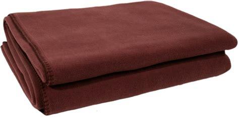 zoeppritz soft fleece decke 160x200 zoeppritz soft fleece blanket in mahogany interismo uk