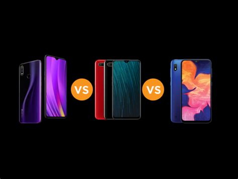 Realme 3 Vs Samsung A10 by Realme 3 Vs Oppo A5s Vs Samsung Galaxy A10 Specs Comparison Gearopen