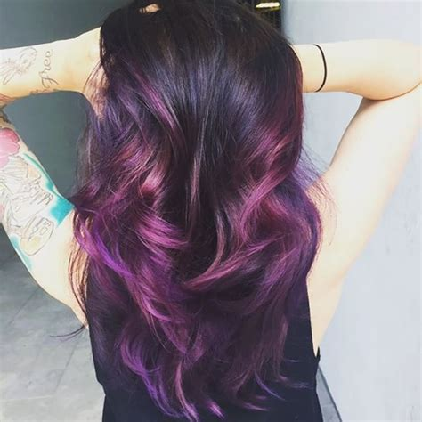 eggplant color hair eggplant purple hair aveda color hair to dos of