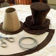 mhaircuta to give an earthy style earth day hat use newspaper and other items to make into