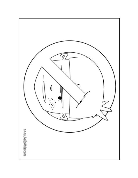 no boys door sign coloring pages hellokids com