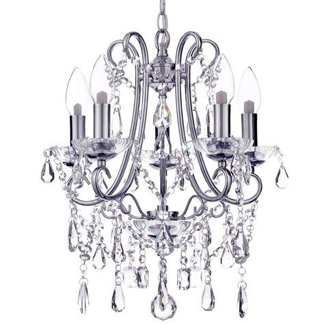 Bathroom Chandeliers Uk Marquis By Waterford Annalee Small Led 5 Light Bathroom