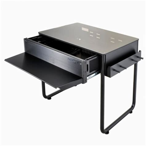 Computer Desk Chassis Lian Li Releases Dk 01x And Dk 02x Desk Chassis Funkykit