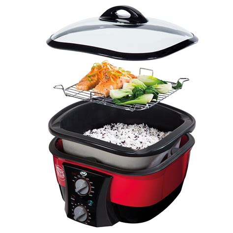 go chef 8 in 1 non stick multi functional cooker with