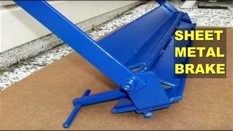 diy sheet metal brake bender