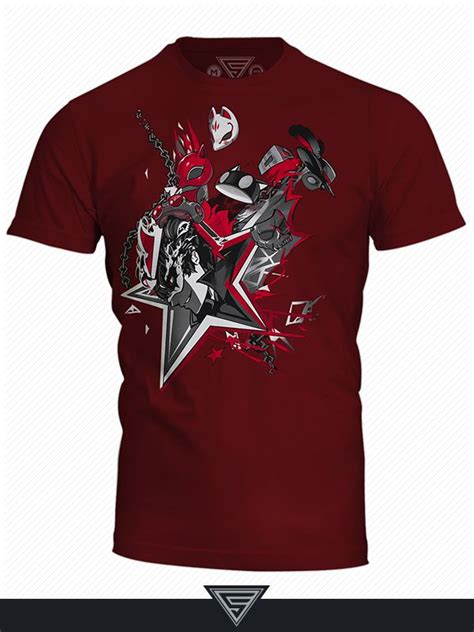 T Shirts Collection 5 eighty sixed reveals persona 5 t shirt collection