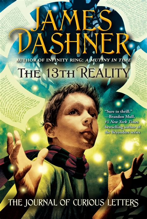 the 13th reality series books the journal of curious letters book by dashner