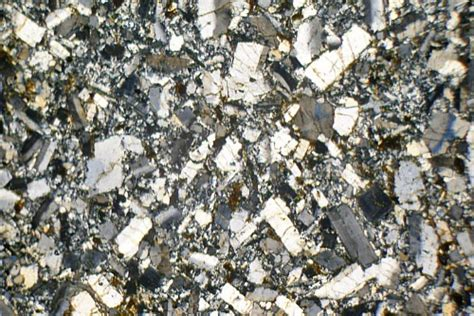 trachyte thin section riebeckite trachyte holy island arran thin section