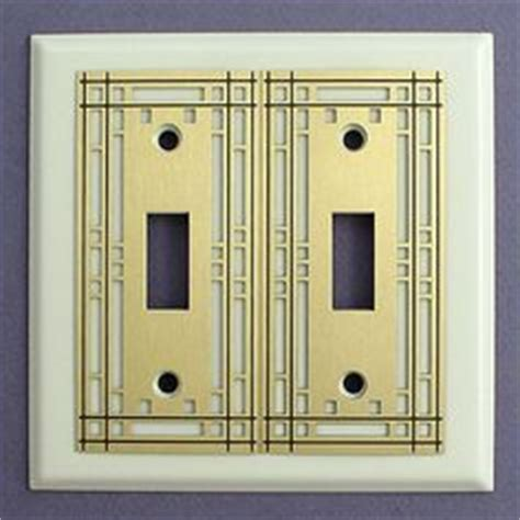 craftsman style light switches details about mission style two gfi light switch