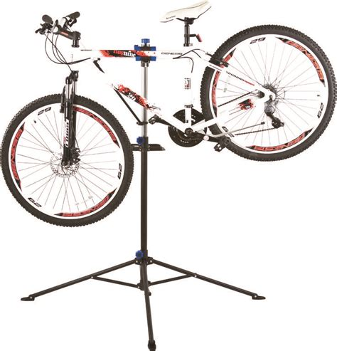 Bike Repair Rack by A Heavy Duty Bike Repair Station With A Telescoping Stand