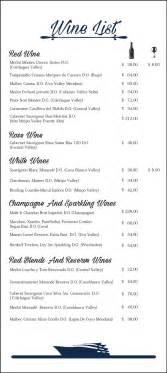 wine list origin galapagos