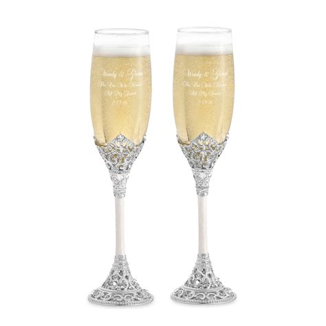 Wedding Glasses by Chagne Glasses Wedding Favors Giftwedding Co