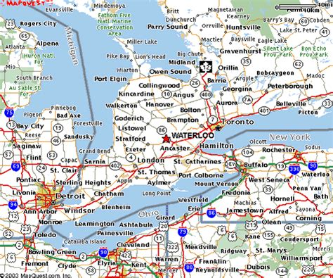 road map of ontario canada reliable index image road map of southwestern ontario