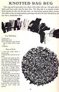 Rag Rug Tutorial No Sew Rugs From Old T Shirts Looky