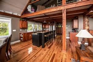 Solar Powered Interior Lights - moose ridge lodge post and beam rustic kitchen other metro by yankee barn homes