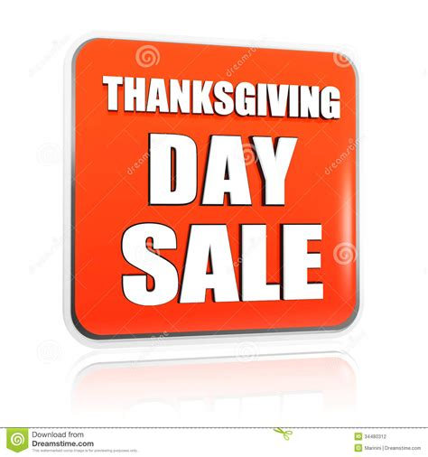 Orange Sale by Thanksgiving Day Sale Orange Banner Stock Photography