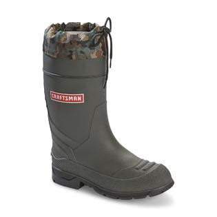 craftsman s waterproof soft toe rubber work boot