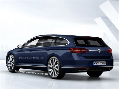 2016 Volkswagen CC Shooting Brake Rendered   autoevolution