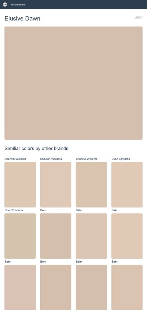 behr paint color click elusive behr click the image to see similiar colors