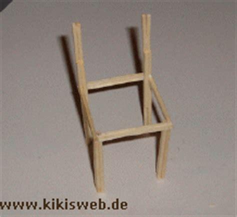 stuhl basteln stuhl aus streichh 246 lzern basteln puppenm 246 bel basteln mit