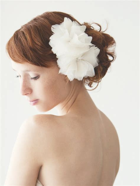 Wedding Hair Flowers Accessories by Flower Hair Accessories Bitsy