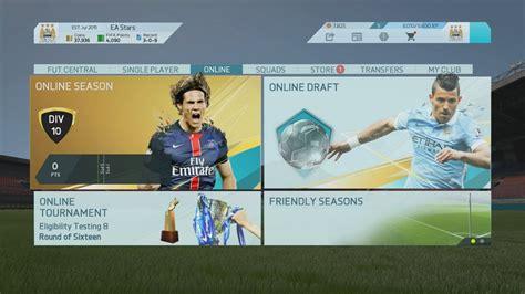 reset online fifa 16 play an offline season