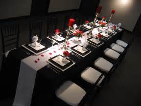 Black White And Red Decorating Ideas Black And White Wedding Ideas Romantic Decoration